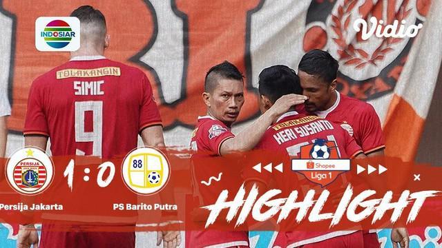 Laga lanjutan #shopeeliga1, #Persija vs #Barito pada hari senin malam (23/09/2019) berakhir  dengan skor 1-0