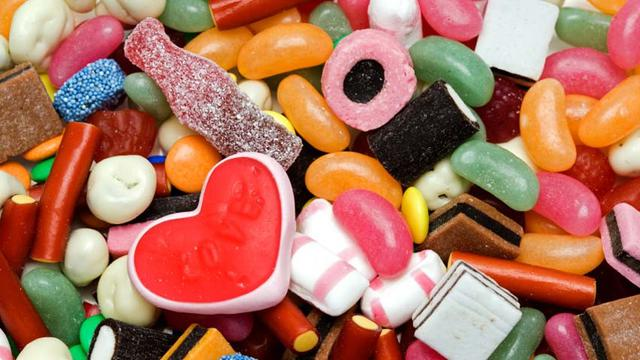 Ilustrasi permen atau gula-gula