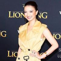 Raline Shah Saat Hadiri World Premier Film The Lion King di Amerika (sumber: instagram/@ralineshah)