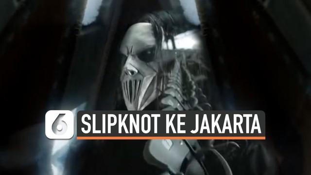 Band metal Slipknot akhirnya dijadwalkan menggelar pertunjukan di Jakarta pada Maret 2020. Slpiknot akan tampil dalam acara Hammersonic 2020.