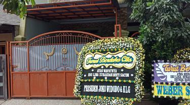 Rumah Lina mantan istri Sule