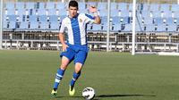 Marc Roca yang masih berusia 19 tahun itu merupakan jenderal lini tengah dari Espanyol B. (www.fuerzaperica.com)