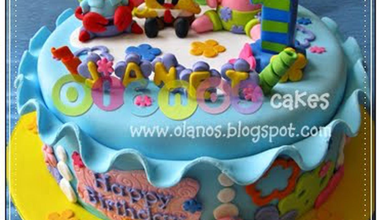 10 Kue Ulang Tahun Sponge Bob Fimela Fimela Com