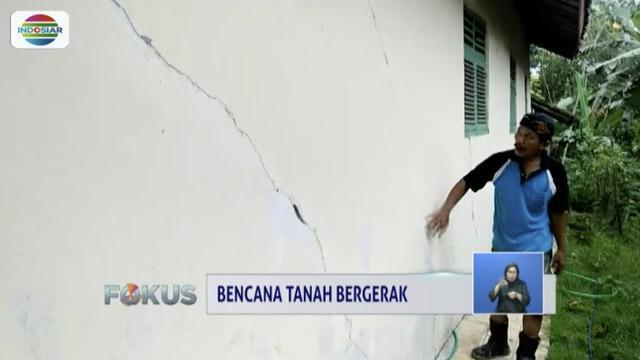 BPBD imbau korban tanah bergerak di Ajibarang, Banyumas, tinggalkan rumah demi keselamatan.