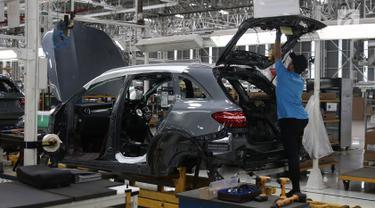 Mengintip Pabrik Mercedes Benz di Wanaherang Bogor