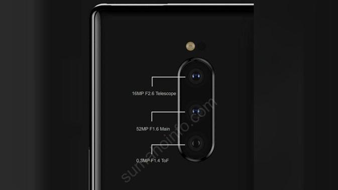 Penampakan Sony Xperia XZ4. (Doc: Sumahoinfo)