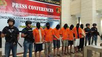 Bareskrim Mabes Polri membongkar perusahaan yang menyalurkan TKI Ilegal, Rabu (9/10/2019). (Liputan6.com/ Ady Anugrahadi)