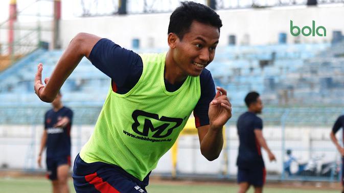 Kadek Raditya Maheswara gabung Madura United. (Bola.com/Aditya Wany)