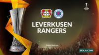 Liga Europa - Bayer Leverkusen Vs Rangers (Bola.com/Adreanus Titus)