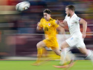 Foto: Republik Ceska Kontra Wales Sama Kuat di Kualifikasi Piala Dunia 2022
