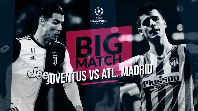 Berita Video Big Match Juventus Vs Atletico Madrid, Cristiano Ronaldo siap cetak gol lagi