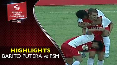 Video highlights TSC 2016 antara Barito Putera vs PSM Makassar yang berakhir dengan skor 1-2 di Stadion 17 Mei, Banjarmasin.