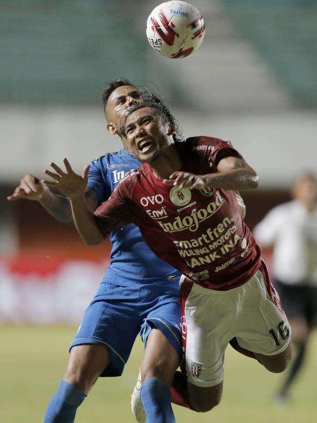Pemain Bali United Hariono di Piala Menpora 2021 (Bola.com/Arief Bagus)