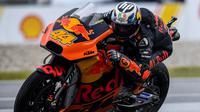 Pol Espargaro saat tes pramusim MotoGP 2017. (AFP/Mohd Rasfan)