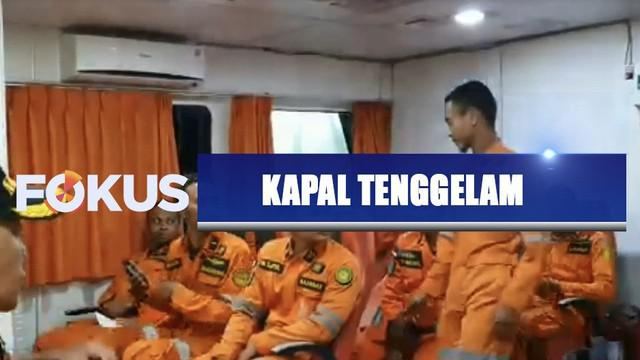 Dugaan sementara, KM Santika tenggelam atau terseret tingginya gelombang laut yang tengah melanda perairan Masalembu, Kabupaten Sumenep, Jawa Timur.