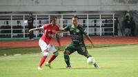 PS Tira Persikabo Vs Semen Padang pada leg kedua 32 besar Piala Indonesia 2018, Sabtu (2/2/2019) di Stadion Pakansari, Cibinong. (Bola.com/Permana Kusumadijaya)
