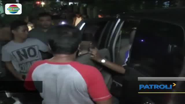 Pelaku penjambret ponsel di Kota Baru, Jambi babak belur dihajar massa.