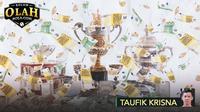 Kolom Olah Bolacom Taufik Krisna - Ilustrasi Atlet Meraih Medali atau Trofi Juara (Bola.com/Adreanus Titus)