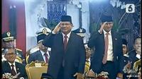 Ketua Umum Partai Gerindra Prabowo Subianto dan Sandiaga Uno. (Liputan6.com)