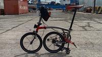 Sepeda lipat Element Pikes. (Foto: Facebook Romanus Sumaryo)