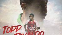 Persipura Jayapura - Todd Rivaldo Ferre (Bola.com/Adreanus Titus)