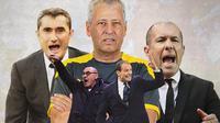 Ilustrasi - Leonardo Jardim, Lucien Favre, Massimiliano Allegri, Maurizio Sarri, Ernesto Valverde (Bola.com/Adreanus Titus)