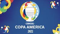 Banner Copa America 2021 (Liputan6.com/Triyasni)