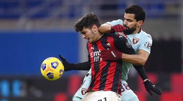 Foto Liga Italia: Gilas Torino, AC Milan Nyaman di Puncak Serie A