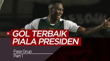 Berita video tiga gol terbaik dari Bhayangkara FC, Persebaya dan PS Tira Kabo di fase grup Piala Presiden 2019.