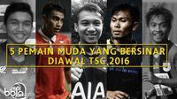 5 Pemain Muda Yang Bersinar Diawal TSC 2016 (Bola.com/Adreanus Titus)