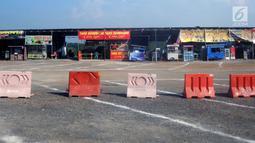 Penampakan rest area Tol Pejagan Km 260, Kabupaten Brebes, Jawa Tengah, Senin (27/5/2019). Sejumlah rest area dibangun untuk kenyamanan para pemudik jelang arus mudik 2019. (Liputan6.com/Gholib)