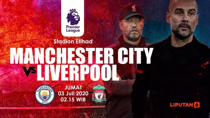 Link Live Streaming Liga Inggris: Manchester City vs ...