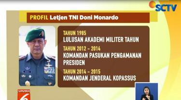 Letjen TNI Doni Monardo adalah perwira TNI Angkatan Darat aktif dengan jabatan terakhir sebagai Sekretaris Jenderal Dewan Ketahanan Nasional.
