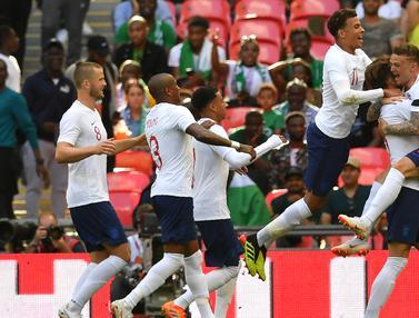 FOTO: Bungkam Nigeria, Inggris Kian Siap Menuju Piala Dunia 2018