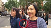 Turis asal Thailand rekam aksi pencopet di London, Inggris. (dok. screenshot video YouTube @Viral Press)