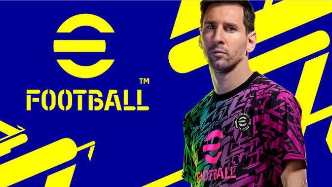 Konami mengumumkan perubahan nama dari PES menjadi eFootball. (Foto: Konami)