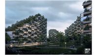 Liuzhou Forest City (sumber: Stefano Boeri Architetti)