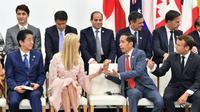 Presiden Jokowi hadiri KTT G20 di Osaka, Jepang. (Foto: Dok Setkab)