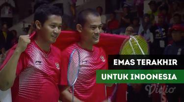 Berita video ganda campuran Indonesia Fredy Setiawan / Dwiyoko raih medali ke-37 serta terakhir bagi Tim Indonesia di Asian Para Games 2018.