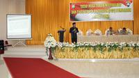 Ketua MUI bekali personil Bhabinkamtibmas, Babinsa dan tomas ilmu tangkal hoaks (Liputan6.com/ Eka Hakim)