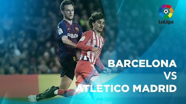 Berita video statistik Barcelona vs Atletico Madrid pada lanjutan La Liga 2018-2019 pekan ke-31, Minggu (7/4/2019) di Camp Nou, Barcelona.
