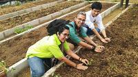 Program Petani Muda Bango di The Learning Farm. (Liputan6.com/Henry)