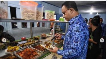 Sebelum Pandemi Corona Covid-19, Anies Baswedan Suka Makan di Warteg