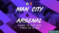 Premier League - Manchester City Vs Arsenal (Bola.com/Adreanus Titus)