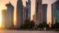 Ilustrasi panas di Qatar. (Shansche/iStock)