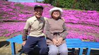 Pasangan Toshiyuki dan Yasuko Kuroki (Shintomicho Office Government)