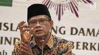 Ketua Umum PP Muhammadiyah H. Haedar Nashir  (Liputan6.com/Herman Zakharia)