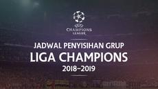 Berita video jadwal penyisihan grup Liga Champions 2018-2019. Liverpool hadapi PSG di Anfield, PSV tantang Barcelona di Camp Nou.