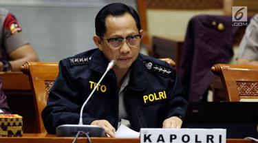 Bahas Anggaran, Kapolri Tito Karnavian Raker Dengan Komisi III DPR