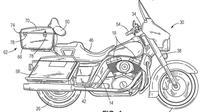 Harley Davison Patenkan Teknologi Penyeimbang Motor (Paultan)